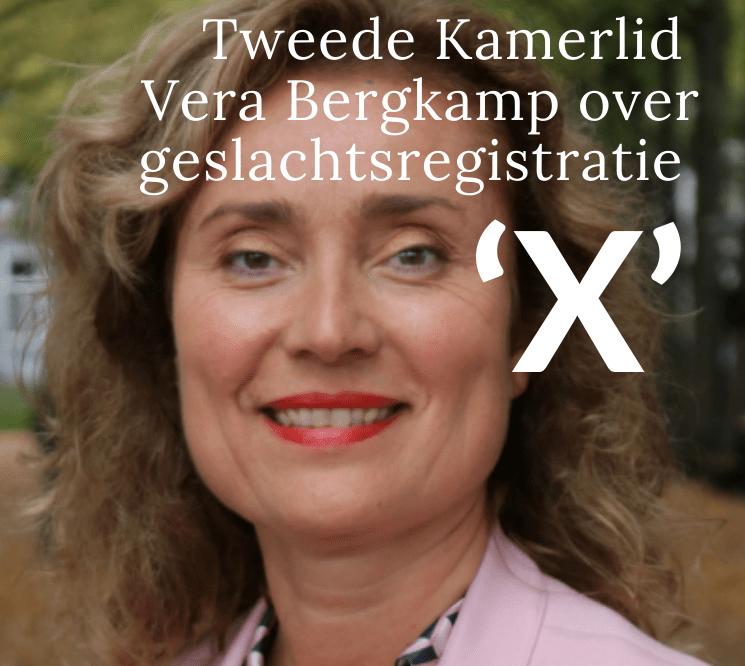 Vera Bergkamp - Geslachtsregistratie X